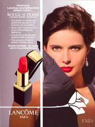 Photo feat. Isabella Rossellini - Lancome - Autumn/Winter 1990  Ready-to-Wear - Fashion Advertisement | Brands