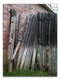Fence Repairs Broken Posts And Wood Gates Fireman Roofing