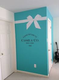 Image Result For White Tiffany Ribbon Decal Blue Bedroom Decor Tiffany Blue Rooms Tiffany Blue Bedroom