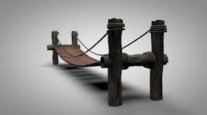 Wooden Bridge 3d Model Free C4d Models