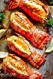 Broiled Lobster Tails - Cafe Delites
