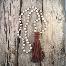 seaside pearls carly pearl leather