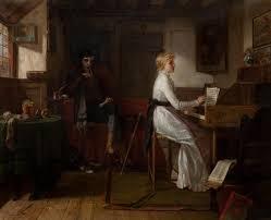 One of the Last Lays of Robert Burns by Henrietta May Ada Ward on artnet