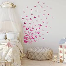 Amazon Com Roommates Pink Flutter Butterflies Peel And Stick Wall Decals Home Improvement