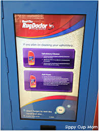 how to a rug doctor machine