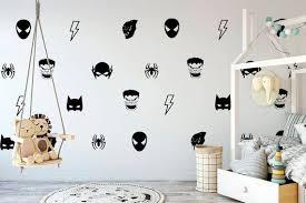 Batman Maske Wand Aufkleber Hulk Decals Boy Zimmer Etsy Boys Room Decals Hulk Kids Room Big Kid Bedroom