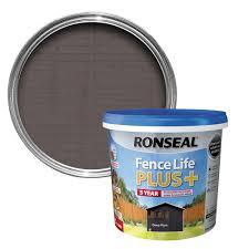 Ronseal Fence Life Plus Deep Plum Matt Fence Shed Wood Treatment 5l Departments Diy At B Q