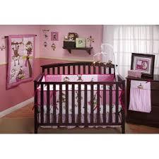 bedlinnensets pink tan teddy bear 10 pc