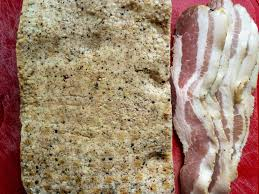 homemade bacon making a prehensive