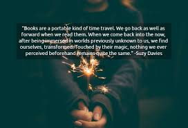 books are a portable kind of time travel we picture quotes