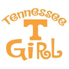 University Of Tennessee Volunteers Girl Clear Vinyl Decal Car Truck Ut Sticker Tennessee Volunteers Football Tennessee Football University Of Tennessee