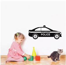 Wall Decal Vinyl Sticker Car Police Protect And Serve For Kids Boys Room Wall Paper Art Decor Design Removable Mural Diy Ww 281 Vinyl Stickers Art Decorfor Kids Aliexpress