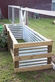 how to build a modern diy garden box