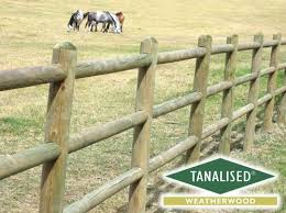 Round Post And Rail Fence Post And Rail Fence Fence Rail Fence