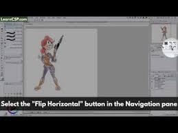 flip an image learn clip studio paint
