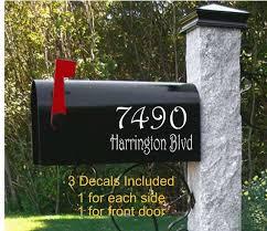 Mailbox Decals Mailbox Decal Mailbox Vinyl Decals Mailbox Etsy