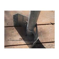 Chain Link Fence Post Anchor Spade Type Hoover Fence Co