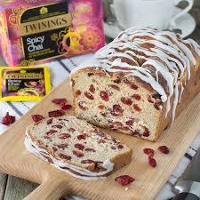 y chai tea cranberry iced loaf