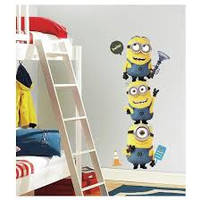 11 Despicable Me 2 Minions Giant Peel And Stick Wall Decal Yellow Blue Roommates Target
