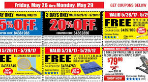 harbor freight 4 day