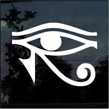 Eye Of Horus Egyptian God Window Decal Sticker A2 Custom Sticker Shop