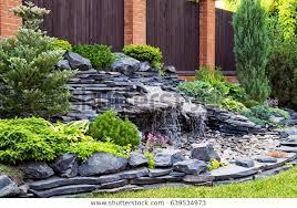 natural stone landscaping home garden