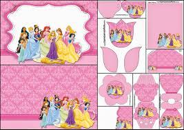 Princesas Disney Invitaciones Para Imprimir Gratis Ideas Y