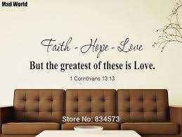 Faith Hope Love Christian Bible Verse Scripture Wall Art Stickers Wall Decal Home Diy Decoration Removable Decor Wall Stickers Wall Sticker Decorative Wall Stickerswall Art Stickers Aliexpress