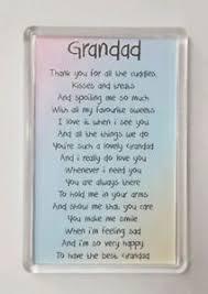 poem fridge magnet birthday gift