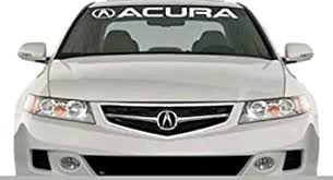 Amazon Com Gy Vinyl Arts Windshield Decal Car Sticker Banner Graphics Compatible With Acura Cars Automotive