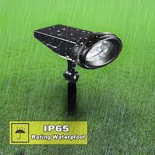 led solar wall light outdoor spotlights