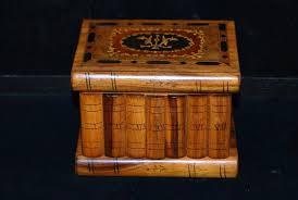 italian marquetry jewelry box antique