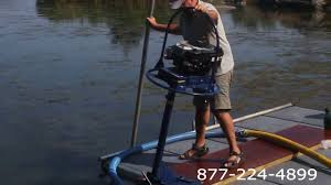 portable suction dredge lake pond mud