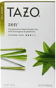tazo tea green zen