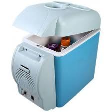 7 5l mini car fridge freezer cooler
