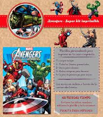 Kit Imprimible Avengers Vengadores Personalizado Candy Bar 600