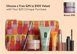 macys clinique free gift 70 value