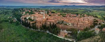 The italian village of Pienza, Siena in Tuscany, Italy - e-borghi