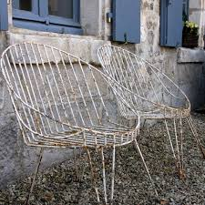 vintage french garden chairs