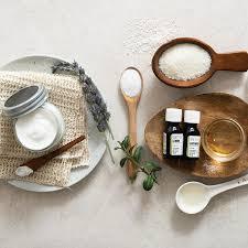 diy hand cream with lemon and lavender