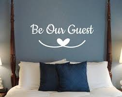 Guest Room Decals Etsy