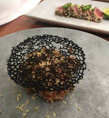 Squid Ink Tuile — Chef Daniel Morel