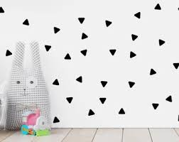 Triangle Wall Decals Etsy