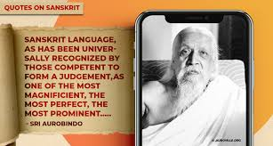 erudite quotes that highlight the importance of the sanskrit my