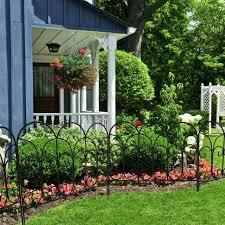 chelsea wrought iron garden fence