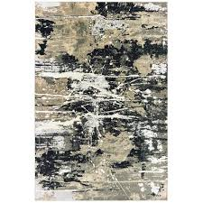 ft x 9 ft abstract area rug 008242