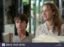 Left to right) Gattlin Griffith is Henry and Kate Winslet is Adele in LABOR  DAY Written