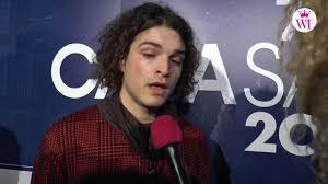 Intervista a Leo Gassman, vincitore delle nuove proposte - YouTube