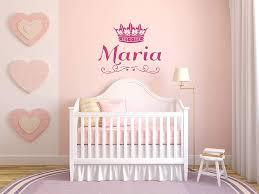 Amazon Com Vinyl Sticker Maria Name Girl Crown Princess Queen Font Type Kids Room Nursery Mural Decal Wall Art Decor Eh671 Handmade