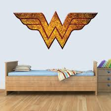 Gng Wonder Woman Childrens Wall Art Decal Vinyl Stickers Picture For B